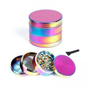 Grinder Rainbow 4 parti - 40mm (1)